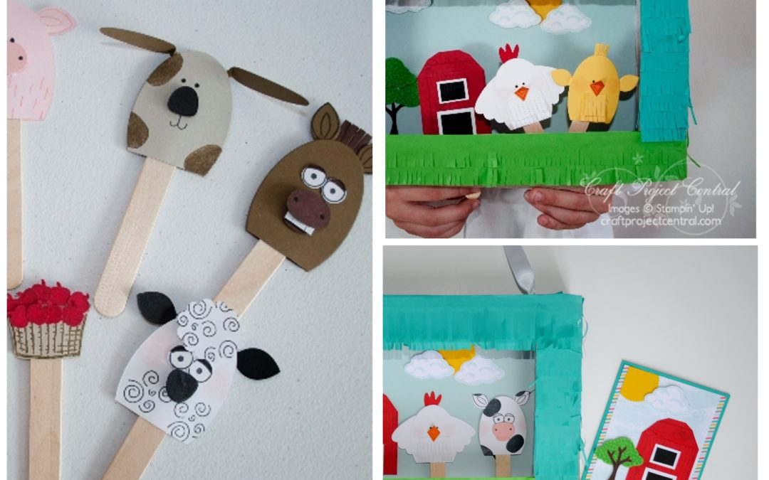 On the Farm Puppet Gift Set – Julie Warnick