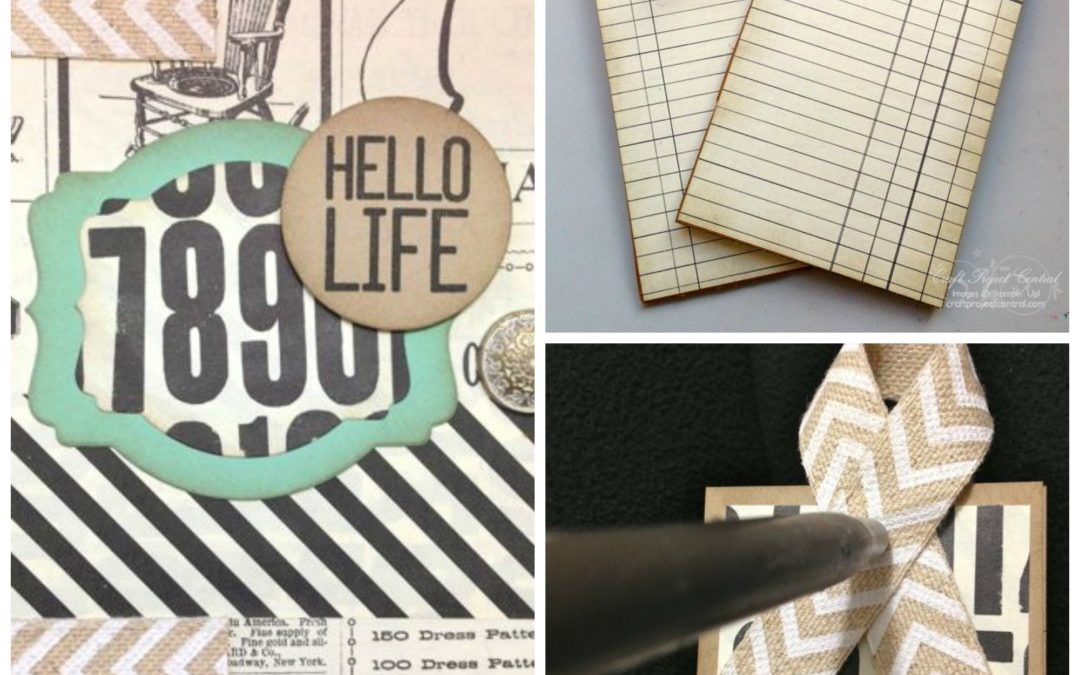 Watercolor Wash Mini Book & Bookmark Set
