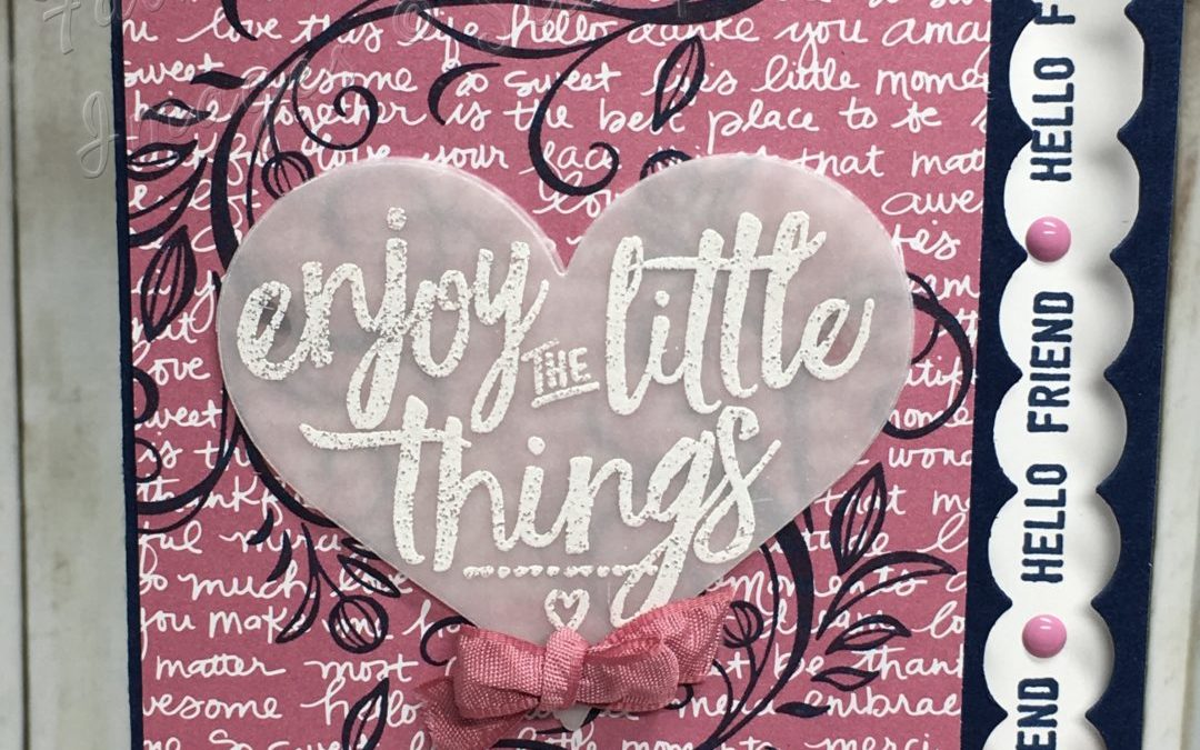 enjoy the little Things – Global Design Project #GDP041