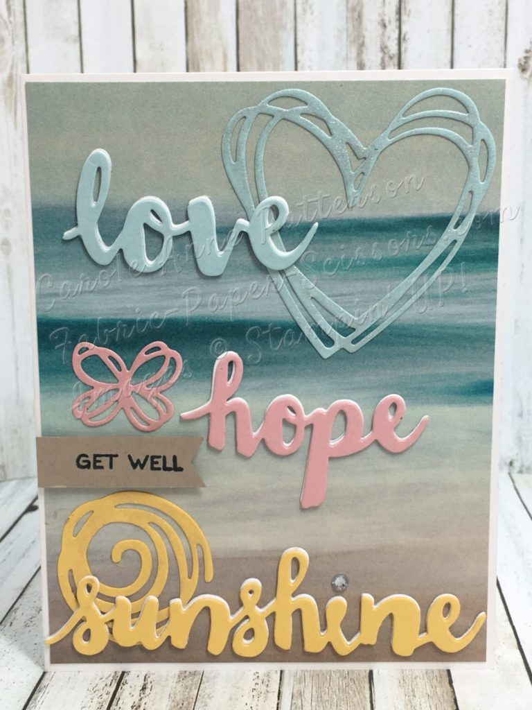 love, hope, sunshine by Carole Anne Patterson