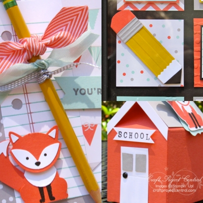 Foxy Friends Back to School Set!