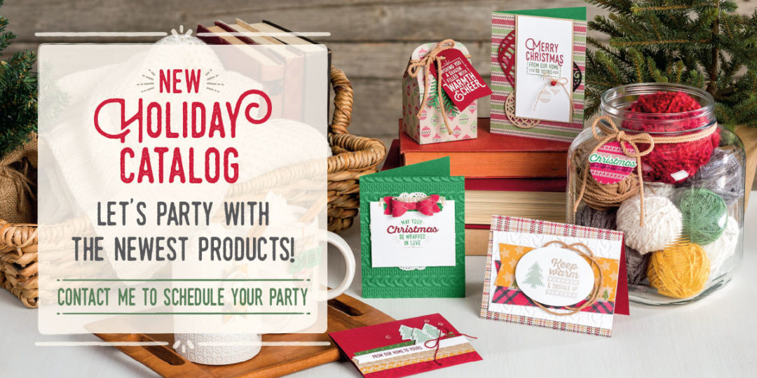 It's Here…It's Live…It's the Holiday Catalog!!!