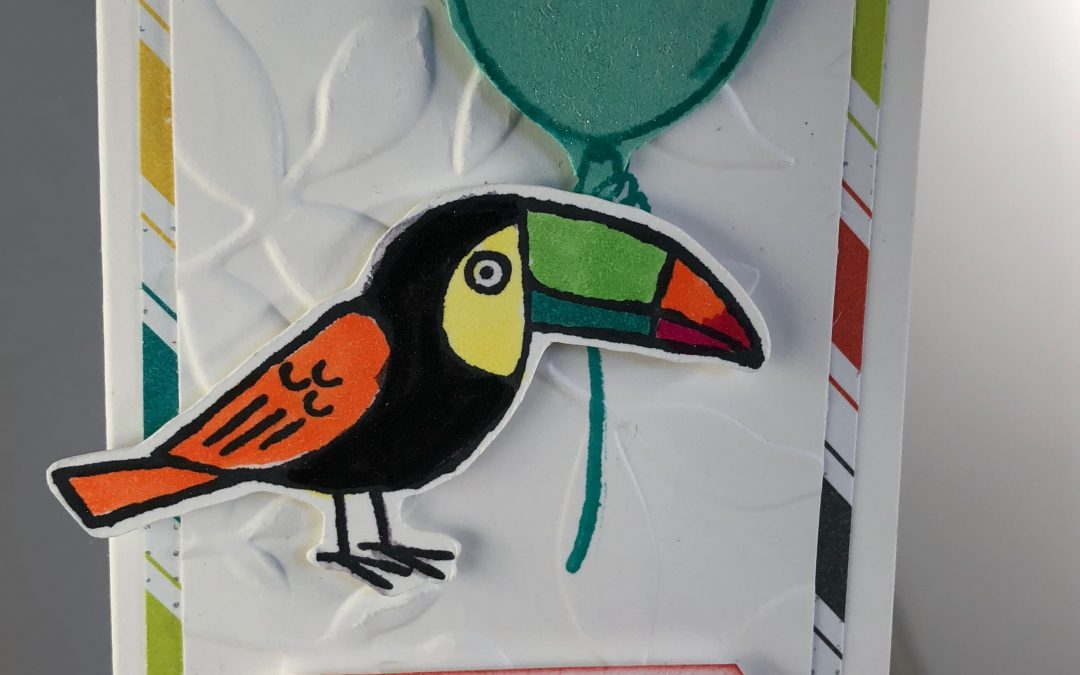 Toucan Thank You Card