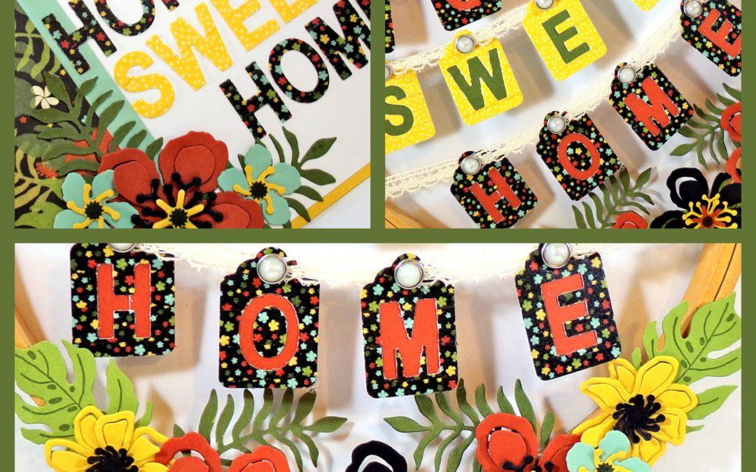 Home Sweet Home Wreath & Card – Christy Fulk