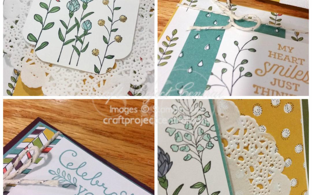Wildflower Fields Card Ensemble!
