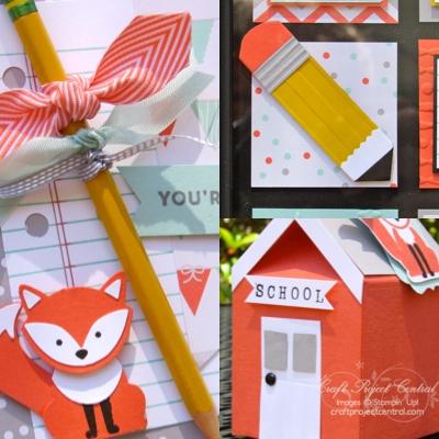 Foxy Friends Back to School Set!