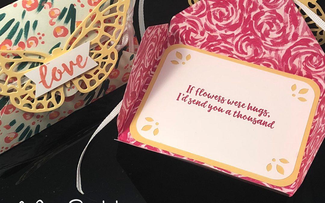 Envelope Punch Board Card–sooooooo easy!